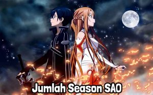 jumlah season sword art online