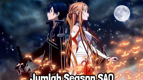 Daftar Jumlah Season Sword Art Online