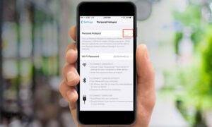 Cara Memunculkan Personal Hotspot pada iPhone yang Hilang