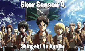 Skor Shingeki No Kyojin Season 4