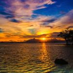 Keindahan Pantai Sebalang di Lampung Selatan
